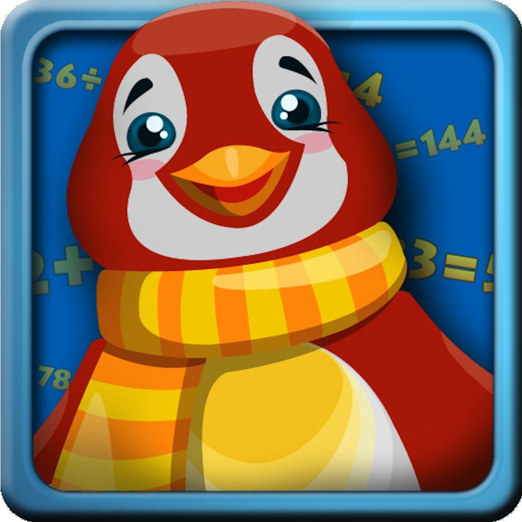 Jiji math penguin mathematics free image